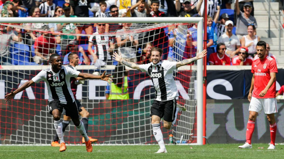 Juventus derrota a Benfica previo al All Star Game de la MLS