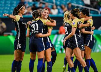 El North Carolina Courage obtiene el primer lugar en el ICC Women's Tournament