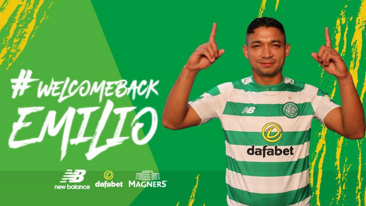 Celtic presentó de manera oficial a Emilio Izaguirre