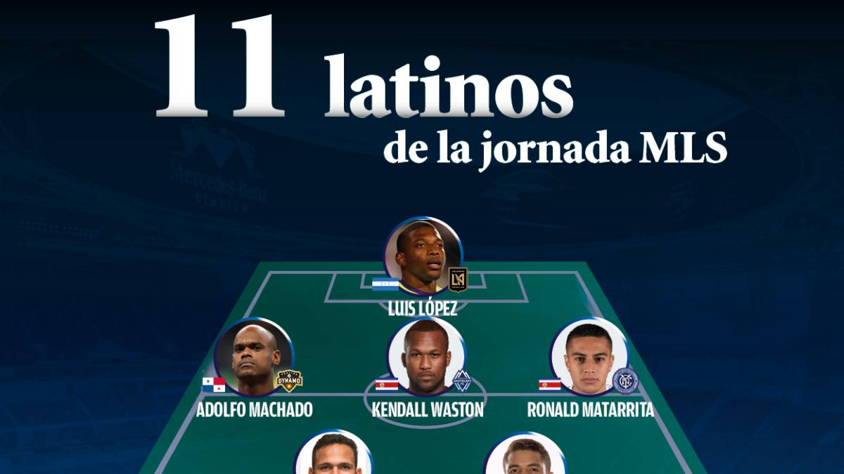 Once latino de la MLS