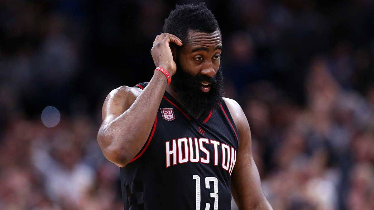 James Harden, jugador de los Houston Rockets