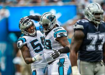 Panthers 16-8 Cowboys: resumen, resultado y anotaciones