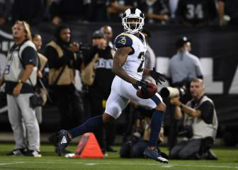 ¡Sin piedad! Rams arrastró a Raiders en el Monday Night