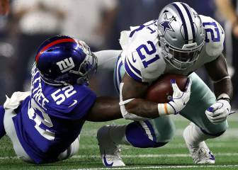 Giants-Cowboys (13-20): resumen, resultado y anotaciones