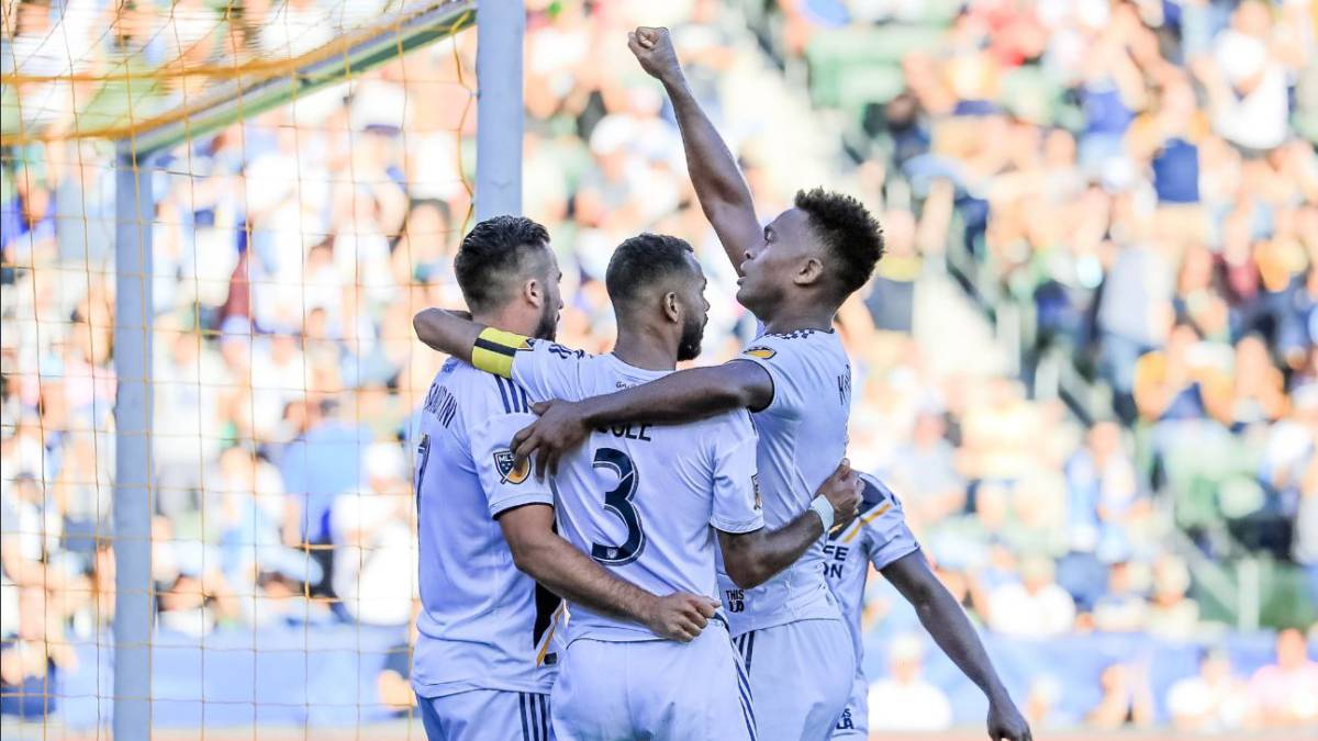 LA Galaxy - Seattle Sounders (3-0): Resumen y goles del partido