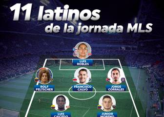 El once ideal de latinos de la semana 31 de la MLS