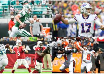 Domingo miserable para los quarterbacks novatos