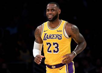 Las postales del estreno de LeBron James en Staples Center