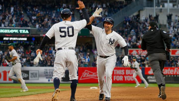 Yankees-Athletics, una tremenda batalla en puerta en New York