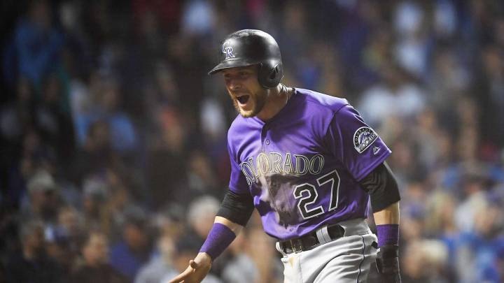 En extrainnings, los Colorado Rockies derrotan a Chicago Cubs