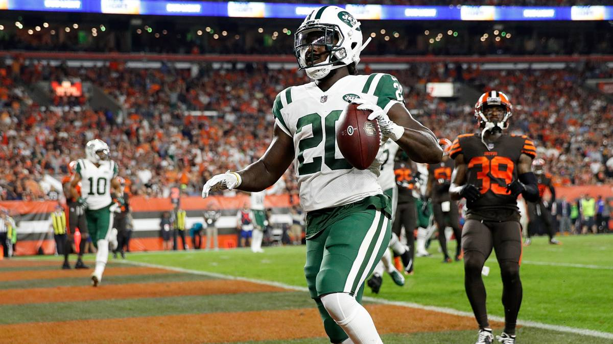 Isaiah Crowell anota touchdown contra Browns