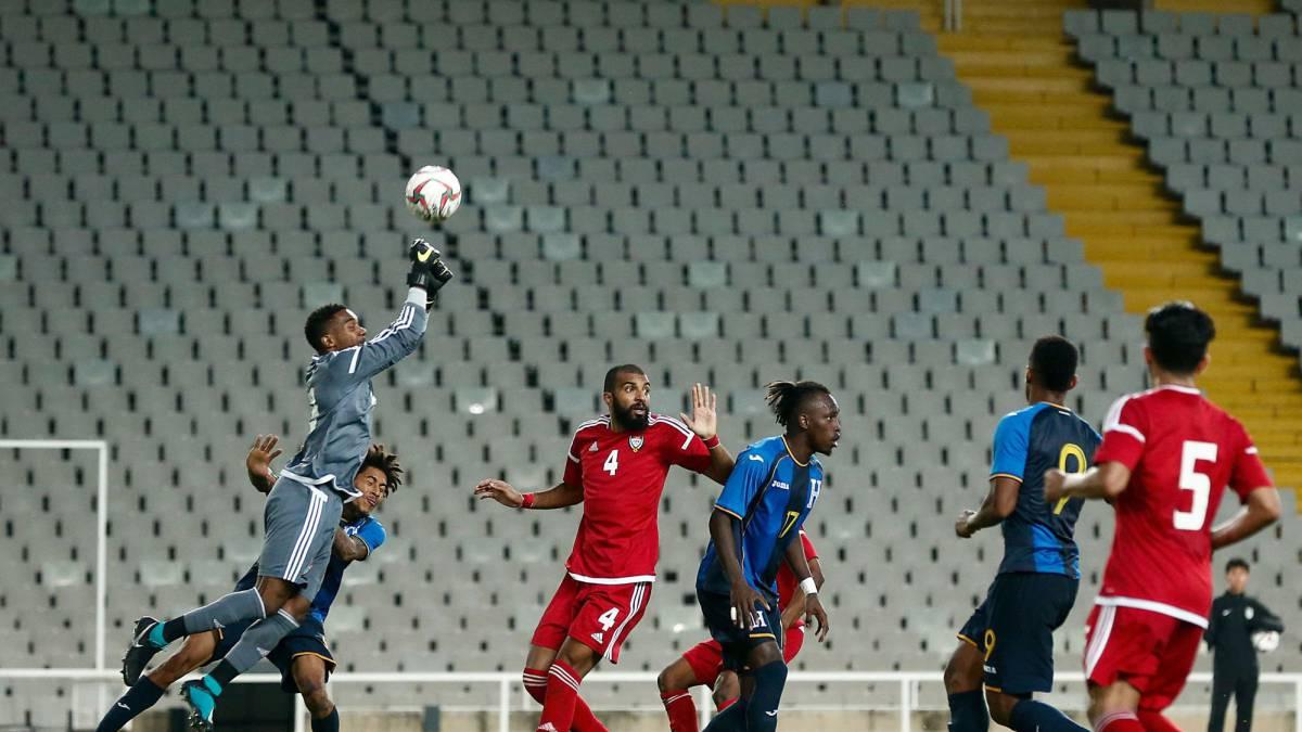 Resultado de imagen para Emiratos Árabes 1 - 1 Honduras ficha