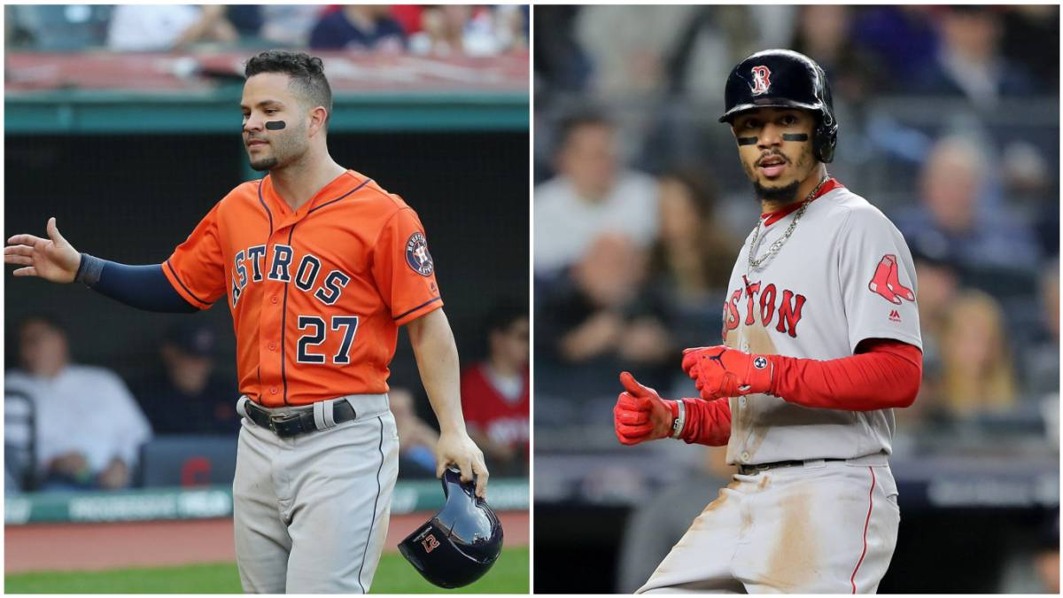 José Altuve y Mookie Betts