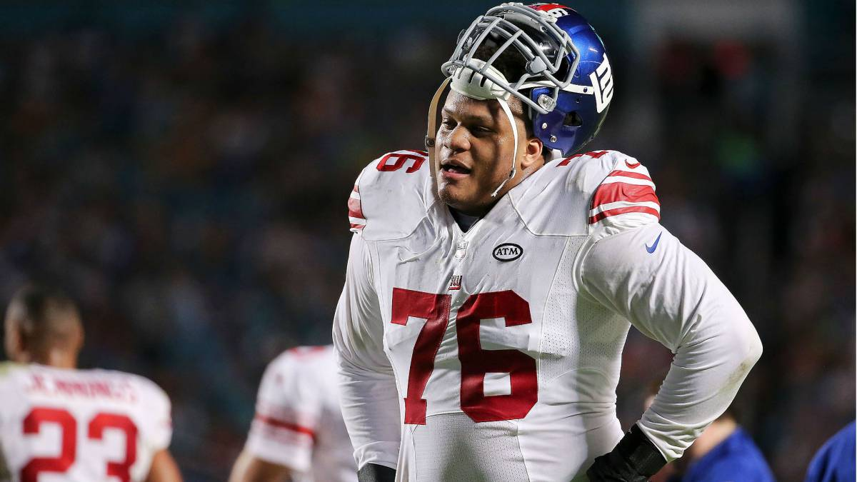 Ereck Flowers con los Giants