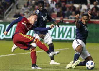 Real Salt Lake a una victoria de Playoffs
