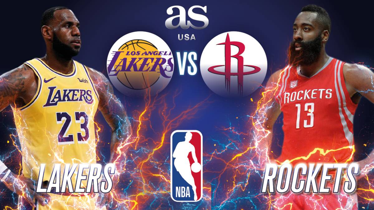 Houston Rockets – Los Ángeles Lakers en vivo: NBA
