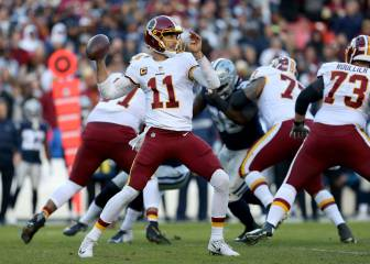 Redskins derrotan a Cowboys en FedEx Field