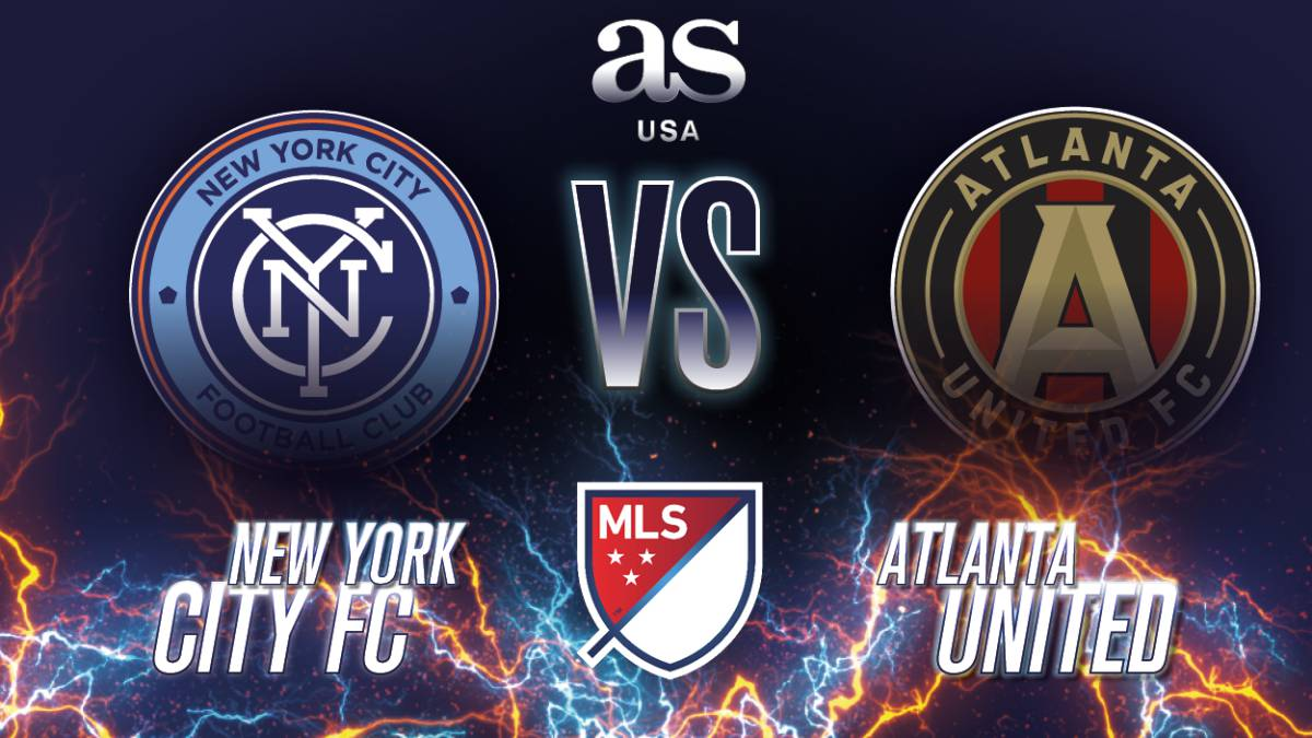 Sigue en vivo las acciones del New York City FC – Atlanta United de los playoffs de la MLS este domingo 4 de noviembre a las 19:30 horas ET.
