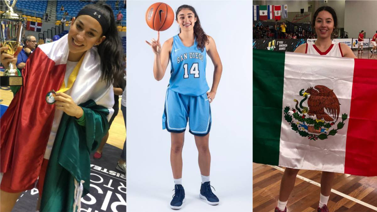 ¡Histórico! 9 mexicanas estarán en la NCAA Basketball de USA