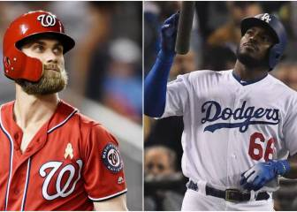 Dodgers y Nationals cocinan intercambio Puig-Harper