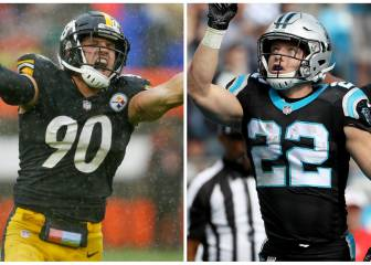 Los cinco enfrentamientos a observar en el Panthers-Steelers