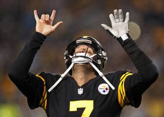 Roethlisberger y Pittsburgh masacran a los Panthers
