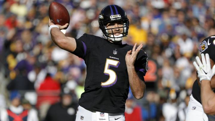 Baltimore podría ver el final de la era Joe Flacco