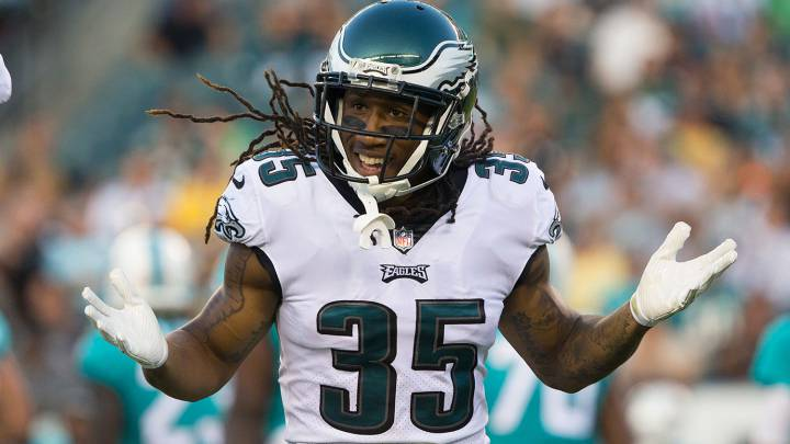 Ronald Darby en partido de Eagles