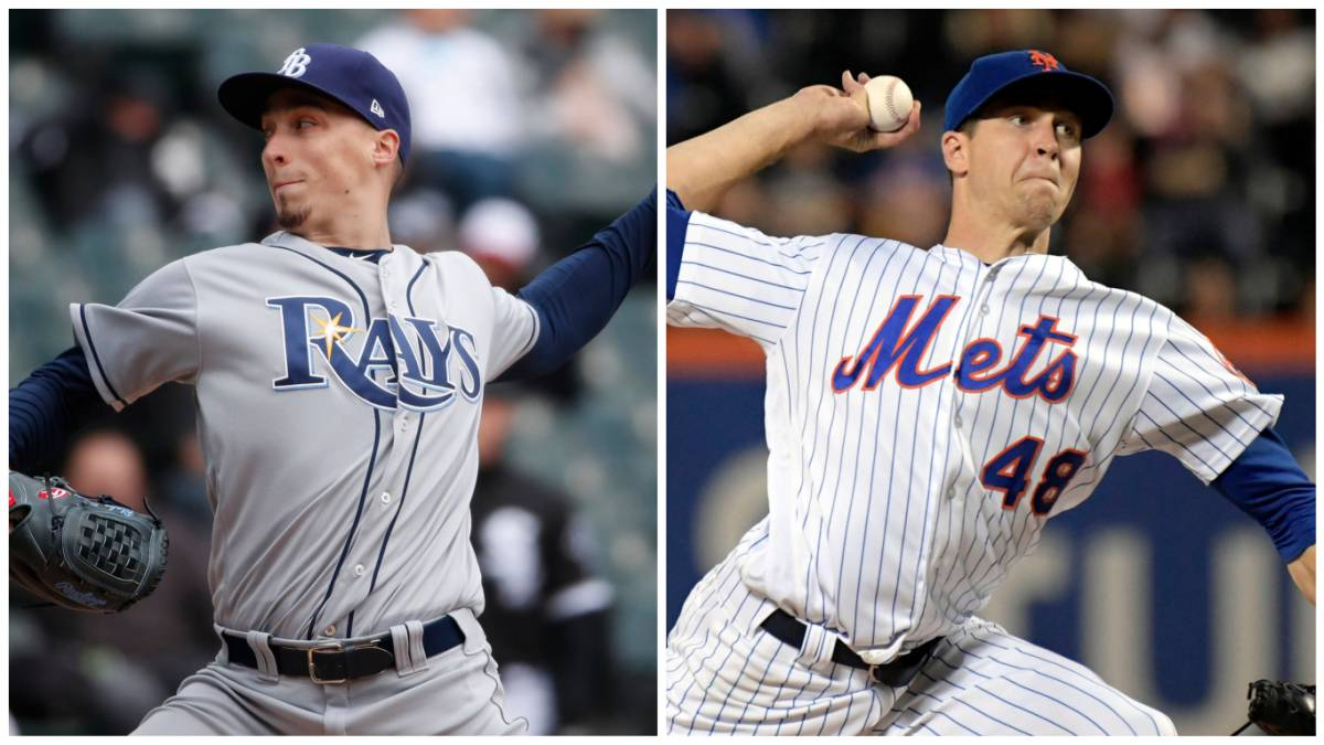 Blake Snell y Jacob deGrom