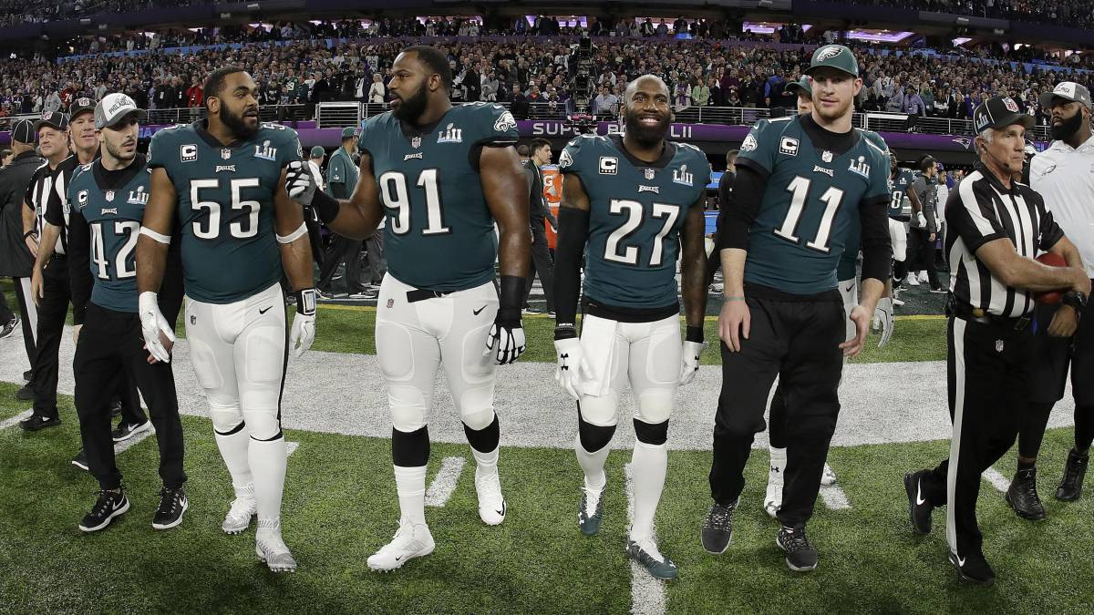 Eagles durante Super Bowl LII