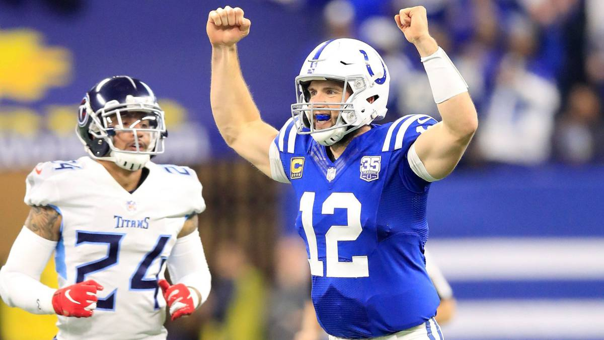 Andrew Luck contra Titans