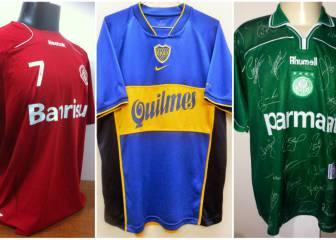 2cfde7aed9a62 Las camisetas de los últimos 30 campeones en la Libertadores