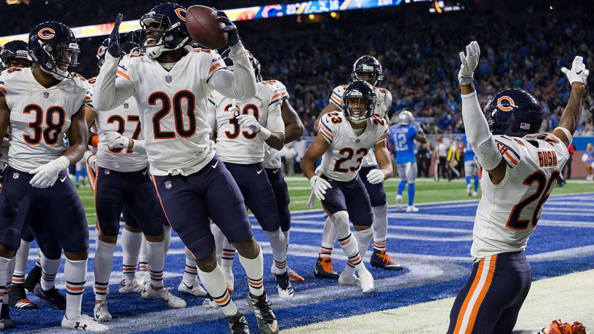 Los Chicago Bears dan gran exhibición en Thanksgiving Day