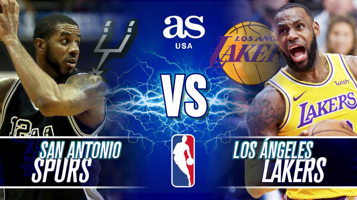 San Antonio Spurs vs Los Ángeles Lakers en vivo: NBA