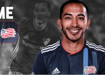 Edgar Castillo llega a New England Revolution en intercambio
