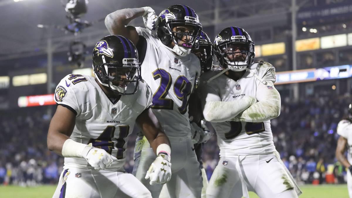 Los Ravens no tienen intención de llegar a postemporada como comodín y dan un paso en la dirección correcta al derrotar a los Chargers de visita.