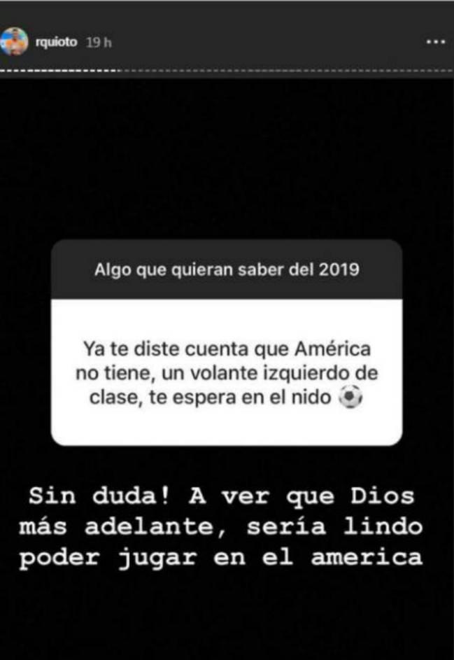 Respuesta del delantero catracho sobre jugar en el Club América.