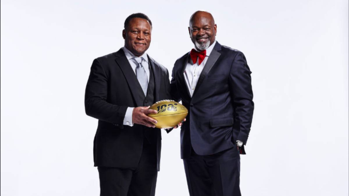 Barry Sanders y Emmit Smith