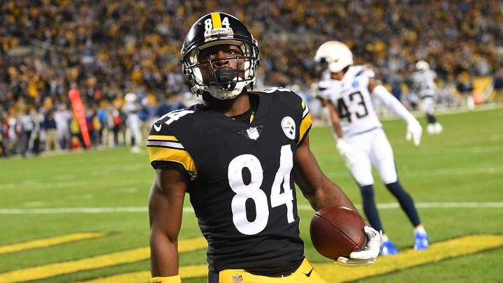 Antonio Brown se despide de los Pittsburgh Steelers