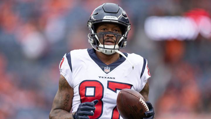 Demaryius Thomas con los Texans