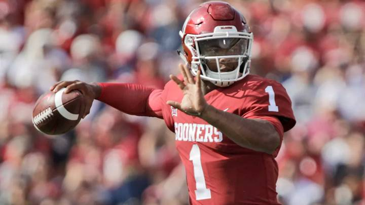 Kyler Murray con Sooners