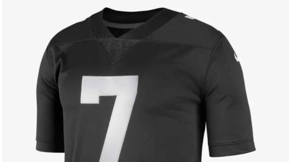 2644be757 Colin kaepernick nike lanzan a la venta jersey conmemorativo as usa jpg  1200x675 Kaepernick jersey