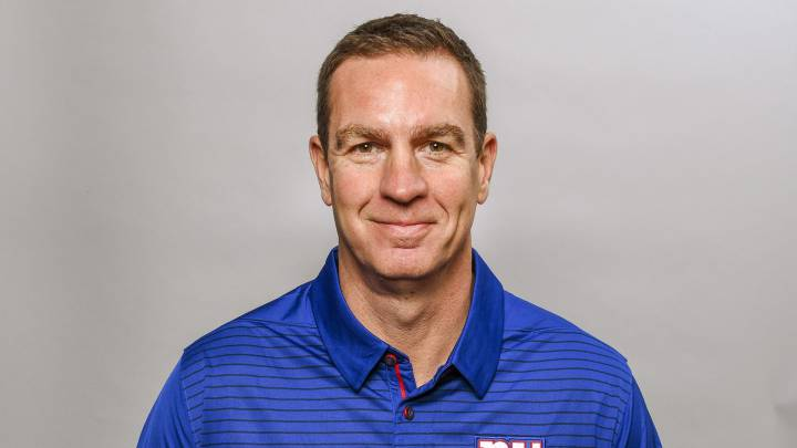 Lou Anarumo con los Giants