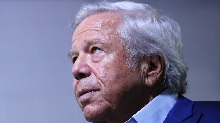 Robert Kraft en evento