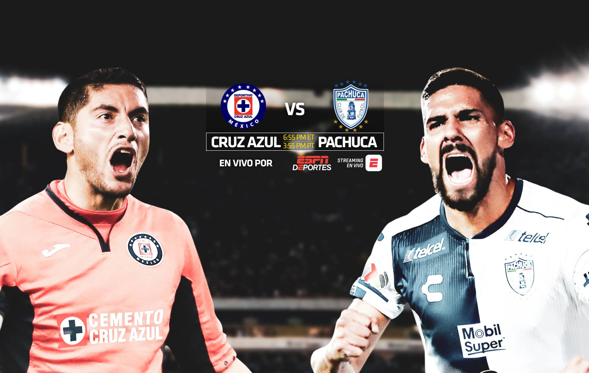Cruz Azul vs Pachuca, Clausura 2019, Liga MX