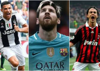 Los 5 futbolistas con más hat-tricks en Champions League
