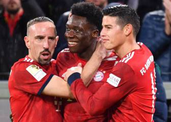 Alphonso Davies makes history for Bayern Munich
