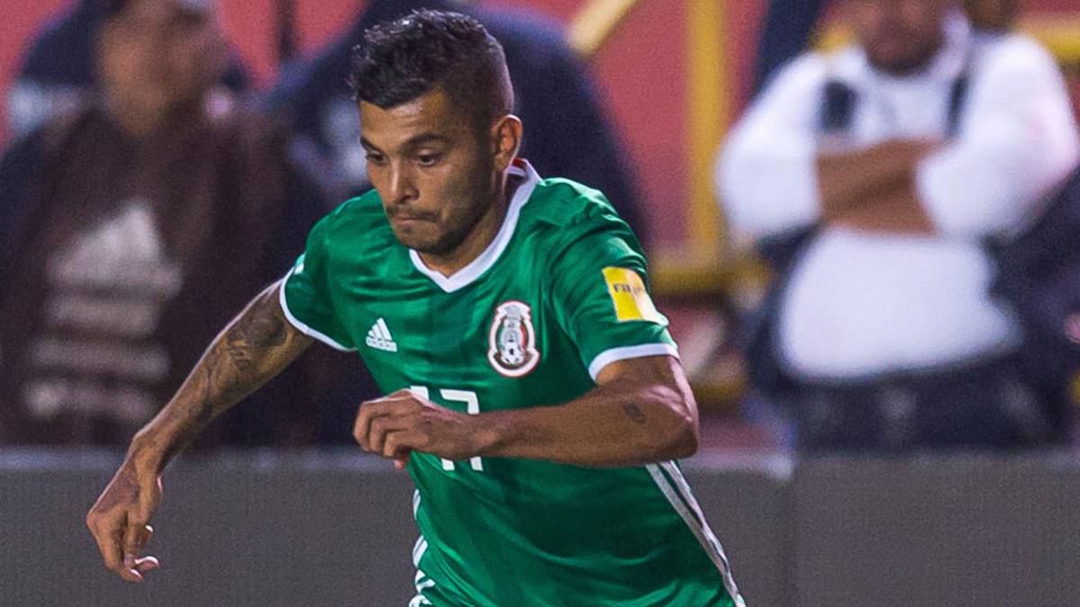 8f41cc87c Jesus 'Tecatito' Corona in action with MEXICO National Team for the 2018  FIFA World