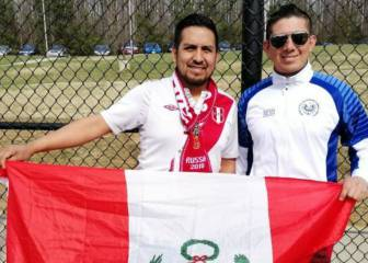 Fans llegan a Washington para disfrutar del Perú vs El Salvador