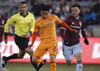 Houston Dynamo vence a Colorado en su casa